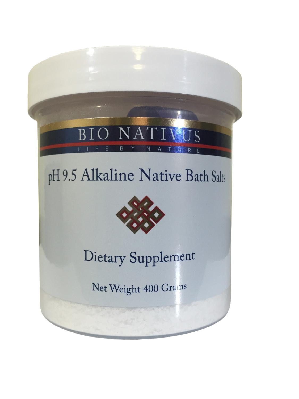 pH 9.5 Alkaline Bath Salts Powder