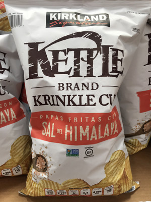 Kirkland Kettle Chips With Himalayan Salt