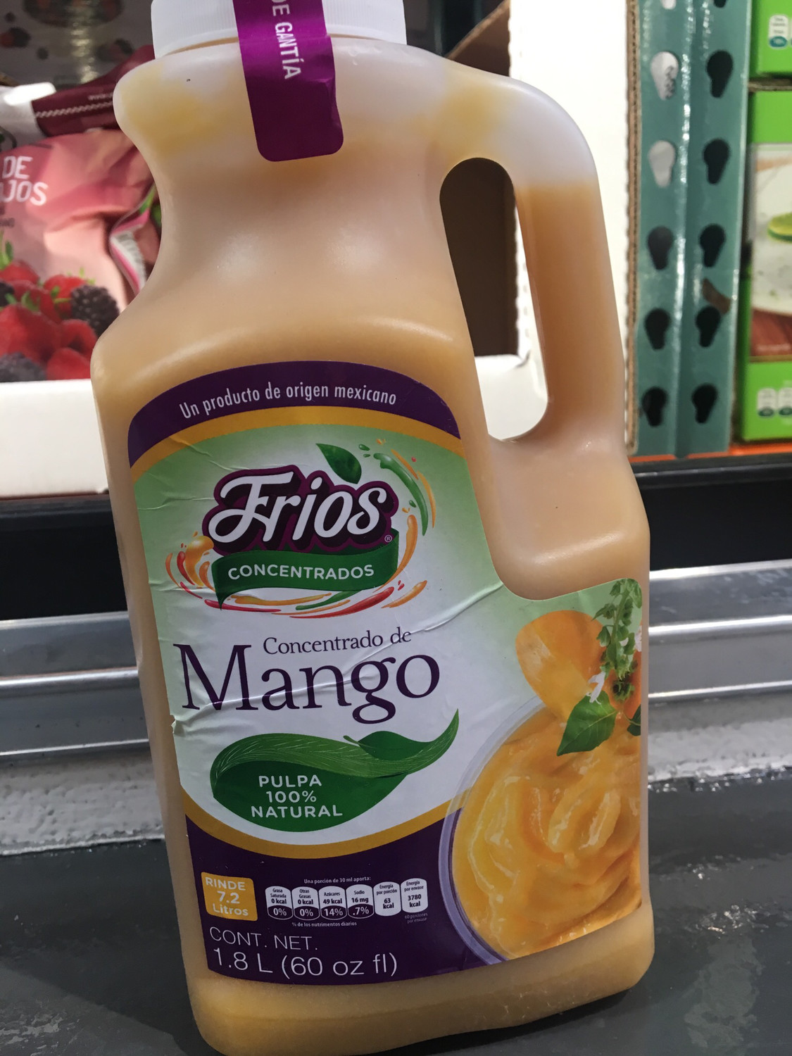 Frios Fruit Concentrate MANGO 1.8 L FROZEN