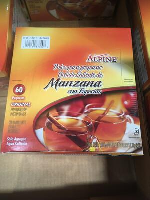 Alpine Hot Instant Apple Cider 60 bags