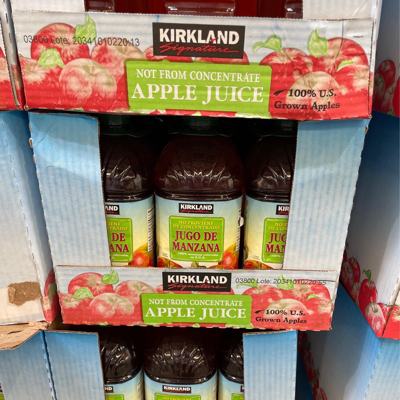 Kirkland Apple Juice 2/3.79L