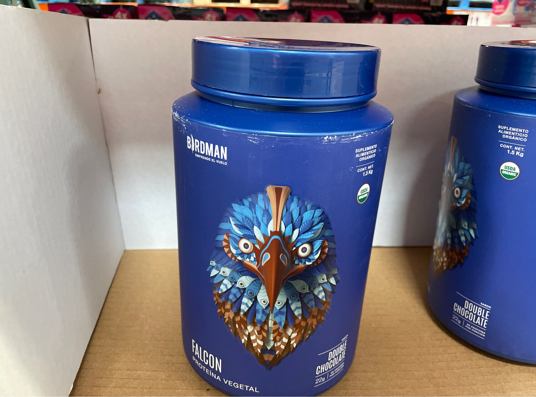 Birdman Falcon Organic Vegan Protein (Chocolate) 1.5kg
