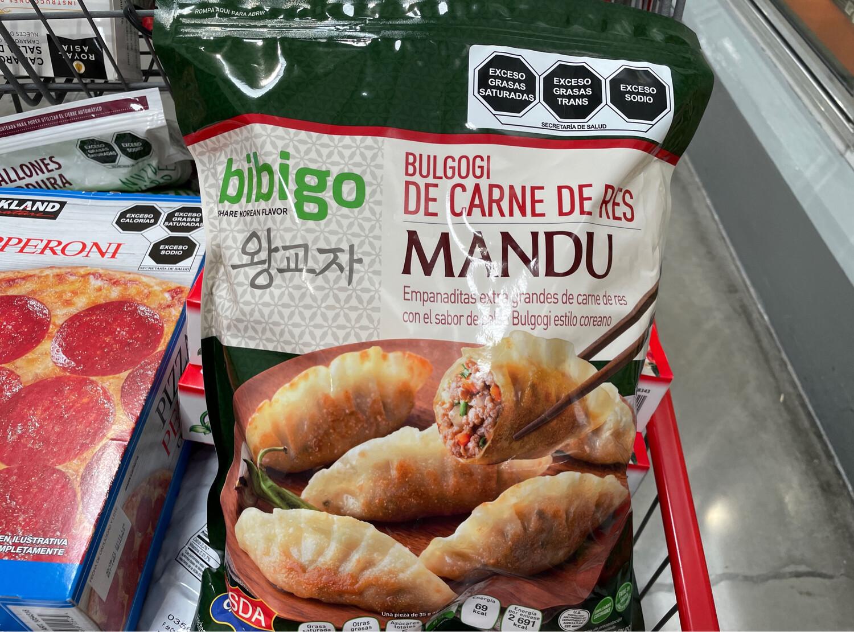 Bibigo Bulgogi with Mandu Beef