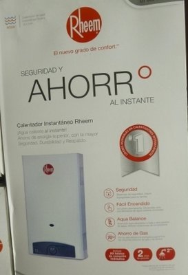 Rheem Hot Water Heater - On Demand   #
