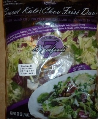Sweet Kale Coleslaw Salad (Fresh)