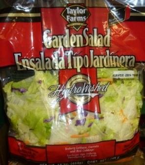 Taylor Farms Garden Salad - 2 pack