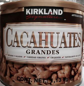 Kirkland Large Peanuts - Gluten Free