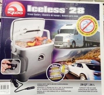 Igloo Cooler (plugs into car)   #