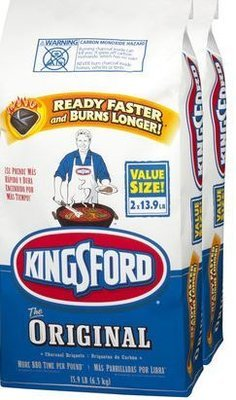 Kingford Charcoal - 2 bags 8.4 k   #  *