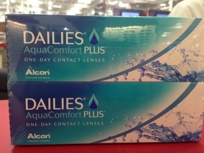 Dailies AquaComfort Plus (2 boxes)  State script in Comments   *