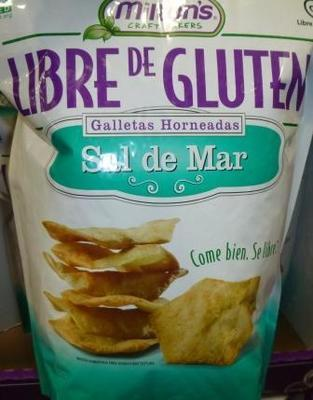 Milton's Baked Crackers w/ Sea Salt - Gluten-Free