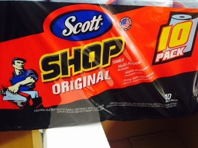 Scott Shop Multiuse Paper Towels - 10 Rolls   *