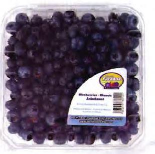 Fresh Blueberries - 510 g