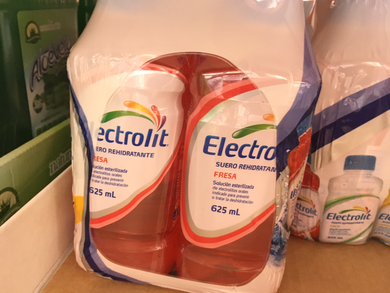 Electrolit Mix (strawberry, apple, coconut) 6/625ml