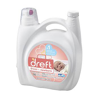 Dreft newborn Liquid detergent *