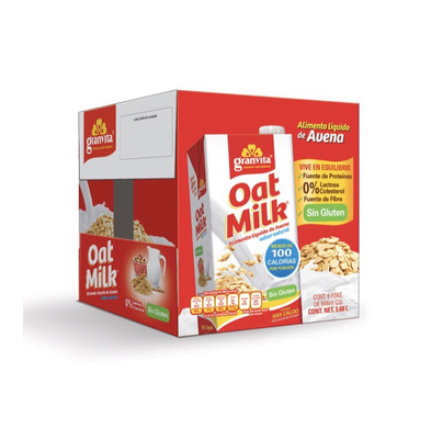 Granvita Oat Milk gluten free