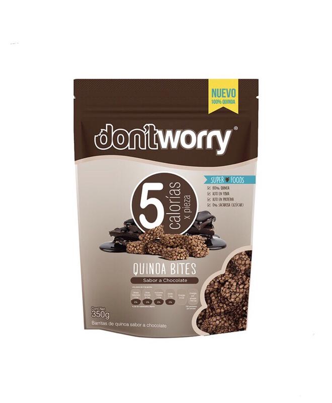 Don't Worry quinoa bites 350g