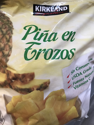 Kirkland Frozen Pineapple Chunks