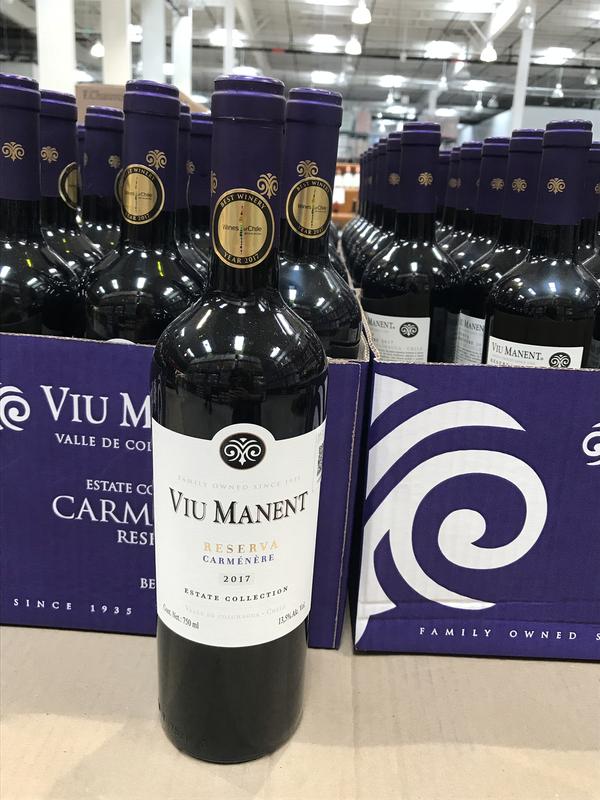 Estate Collection Carmenere red wine 750ml  *