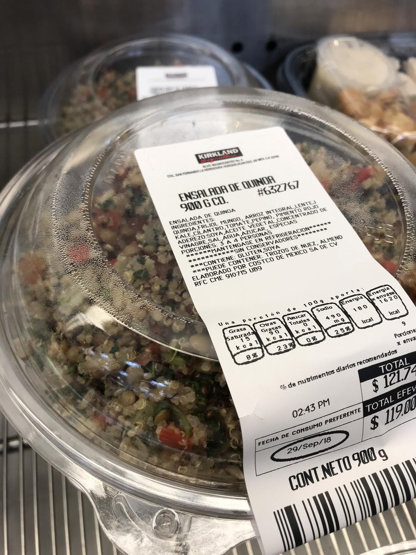 Kirkland Fresh Quinoa Salad