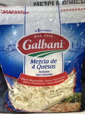 Galbani Italian 4-Cheese Mixture 907g