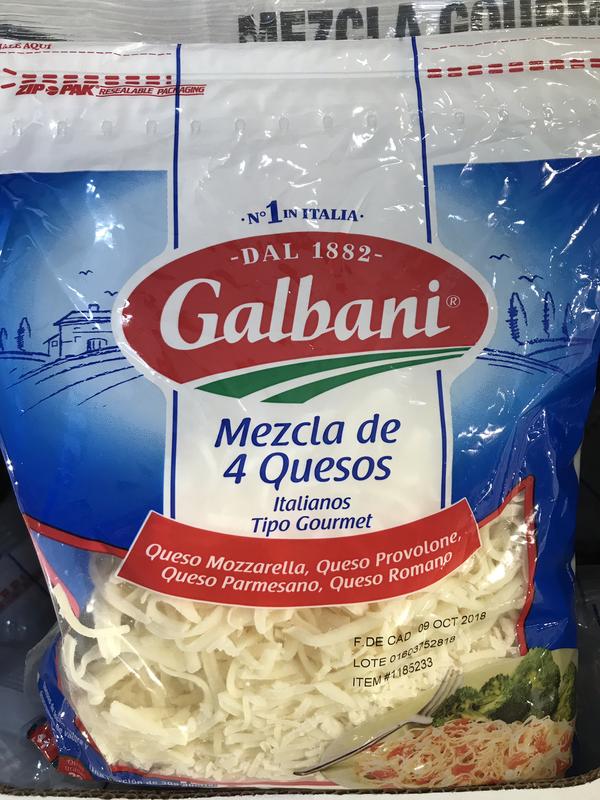 Galbani Italian 4-Cheese Mixture 907g