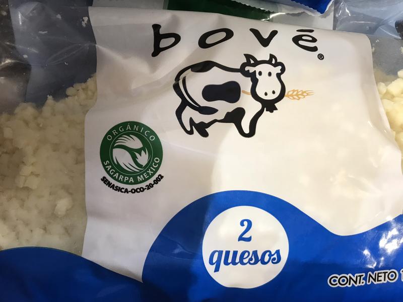 Bové Organic shredded cheese 1kg