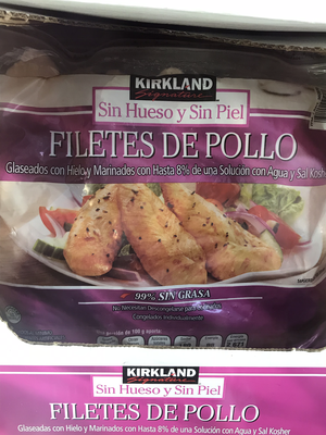 Kirkland Frozen Chicken Filete 2.73kg