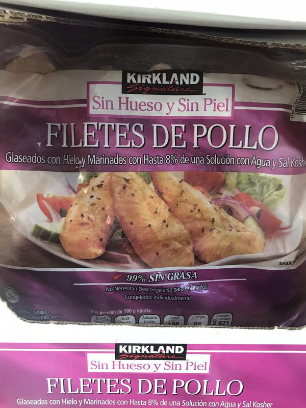 Kirkland Frozen Chicken Filete 2.73kg