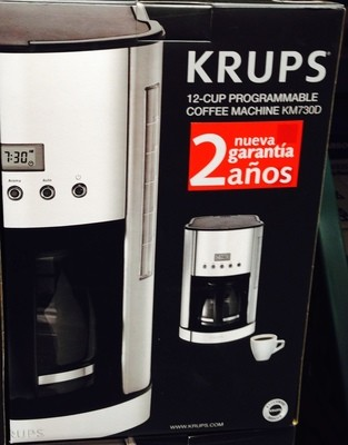 Krups Programable Coffee Maker - 10-12 cups