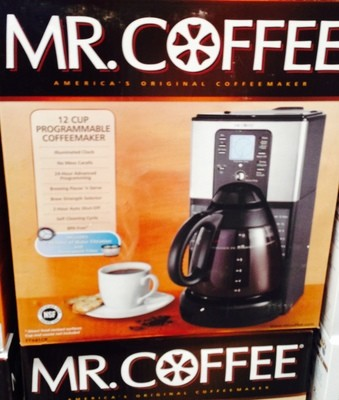 Mr. Coffee Programable Coffee Maker - 12 cups