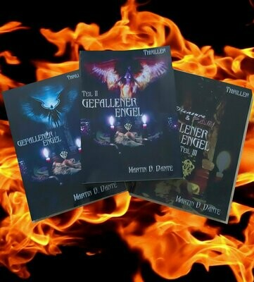 Bücherset: Rebecca, gefallener Engel (Trilogie)