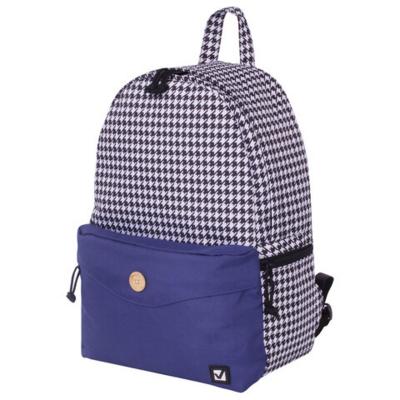 Рюкзак BRAUBERG универсальный, SYDNEY White&blue, 38*27*12 см