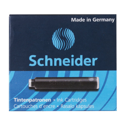 Картриджи чернильные Schneider черные, 6шт., картонная коробка