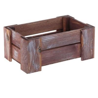 Кашпо деревянное 23*12.5*10 см