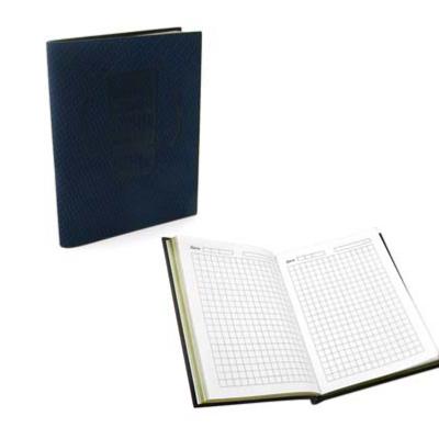 Записная книжка экокожа BW-480 А7, 80 листов, клетка, INTELLIGENT мягкая обложка