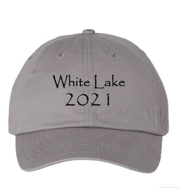 Cap White Lake 2021 (available in 5 Colors)