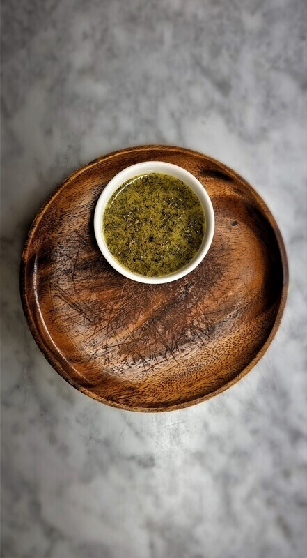 Saki's Olive Oil Lemon Mustard Sauce (COMING SOON)