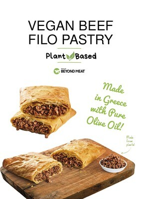 Vegan Beef Filo Pastry (Serves 2)