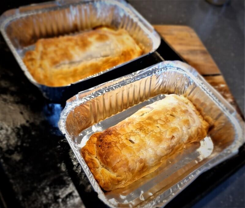 Lamb Saki Souvlaki Sausage Roll