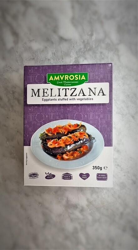 Melitzana - Eggplants Stuffed with Vegetables