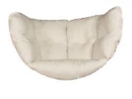 Kussen 1-zit hangstoel (hoes + vulling)