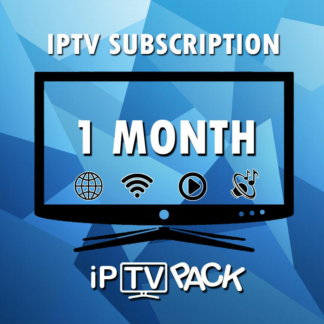 1 MONTH IPTV PACKAGE