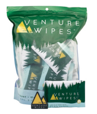 Venture Wipes 25-Count Bag