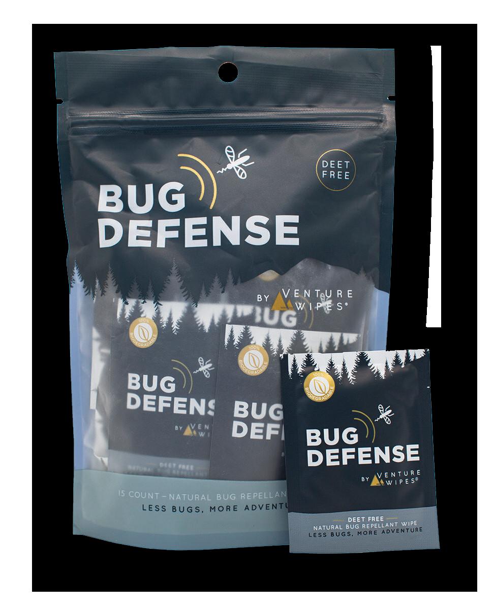 Bug Defense by Venture Wipes: 15ct bag