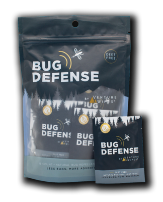 Bug Defense by Venture Wipes: 15ct bag
