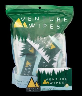Venture Wipes 25-Count Bag