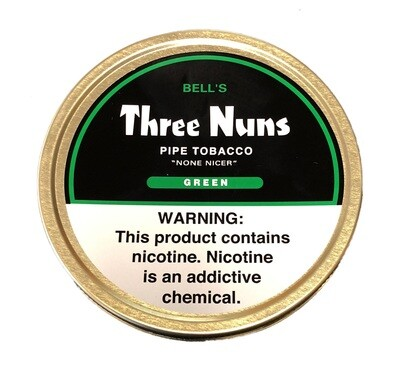 Mac Baren Three Nuns Pipe Tobacco Green 1.75oz Tin