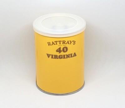 Rattray's 40 Virginia Pipe Tobacco 100g