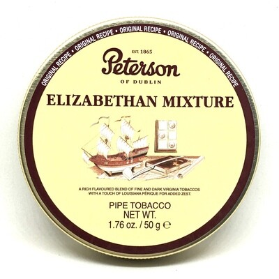 Peterson Dunhill Elizabethan Mixture Pipe Tobacco 50g
